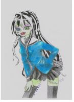 Monster High Frankie by LeyreyDani