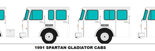 1991 Spartan Gladiator Cabs by MisterPSYCHOPATH3001