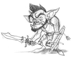 Goblin by wedgeismyhero