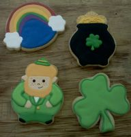 St Paddy's Cookies by Sadeira