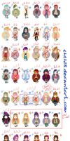 50 chibi adoptables #15 [closed] by thth18