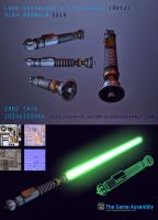 Luke Skywalker's Lightsaber (RotJ) by Dragonbaze