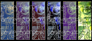Tentacles Bookmarks by Flaming-Scorpion