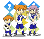 Minaho and Manabe and smallMinaho by Lonlon2orHoagieCoco