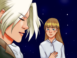 anime screencap redraw: gundam wing by SparklingChromis