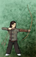 The Kyudo practice by Argan-Gwengar