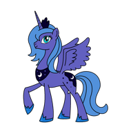 Princess Luna for Flikkun by AleximusPrime
