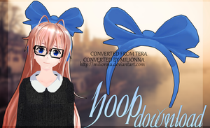 MMD TERA Hoop [DL] [DOWNLOAD] by Milionna