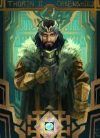 Hobbit : Thorin II Oakenshield by Mushstone