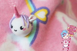 Kawaii Unicorn Nubbie by CandyStripedCafe