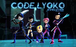 Code Lyoko Evolution  Wallpaper Montage by FearEffectInferno