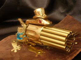 A new family member: Doc Frog wrist Gatling gun by Arsenal-Best