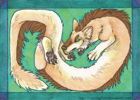 Contorted Sylphoid ACEO by CunningFox