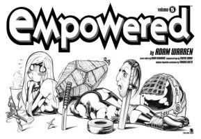 EMPOWERED 5 title page by AdamWarren