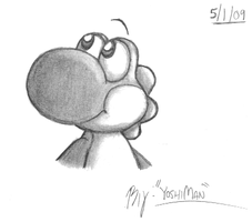 Shaded Yoshi by YoshiMan1118