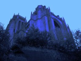 Cathedral of Blues by happinessdragon