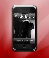 B-Evil.Com iPhone by BEV1L