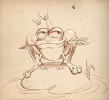 Frog Princess by lazunov