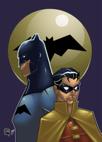 Dynamic Duo in Full Color by JPVilchisartist