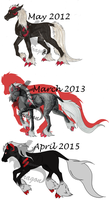 As'findal Over the years by KTdragon