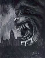 AN AMERICAN WEREWOLF FAN ART by twistedmentality