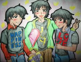 APHOC's: Delivery Boys by kahochanlenkunlovers