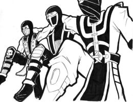 Dancin with the Ninjas by wolfTHEORY