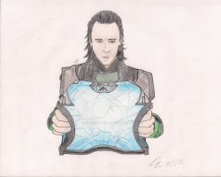 Loki and the Chest by lilly-b-deadly