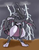 Mewtwo's Armor by angel-of-arkansas