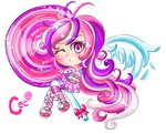 Ceci contest part 2 Chibi sweet lollipop by JamilSC11