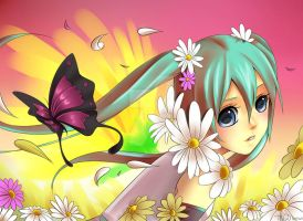 HATSUNE MIKU: A song in full bloom by Diana-hiwatari