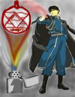 full metal alchemist Roy Mustang work 3 by daylover1313