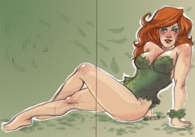 Poison Ivy by aubergineverde
