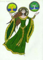 The Silmarillion: Yavanna by Saphari
