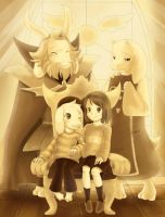 Dreemurr Family Portrait by Unu-Nunium