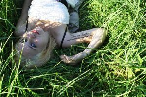 Sleeping In The Grass by Spannie123
