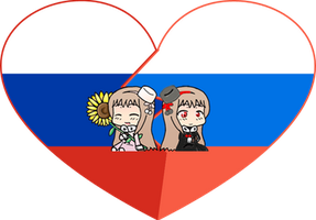 Light and Darkness (Nyo!Russia) Shimeji Heart by LadyAxis