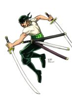 Daily Sketches Zoro by fedde