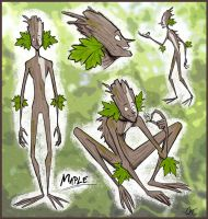 Tree Hugger :: Maple Design by Inonibird