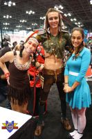 Tiger Lily/Peter Pan/Wendy Cosplay - NYCC 2013 by ConMenWebSeries