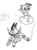 Toughpea by Mickeymonster