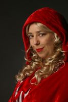Emilie red riding Hood - good by StellaPhotos