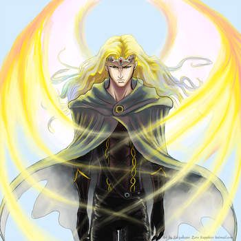 Prince Nyctalus of Light by Saiyakupo