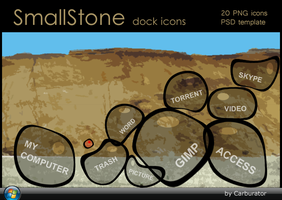 SmallStone dock icons by Carburator