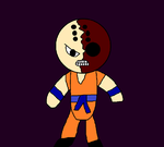 Creepy-Fighters 1 Krillin by Slendercell-2