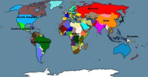 Political map of 21st century by GeneralHelghast