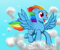 Rainbow Dashie by Empyu