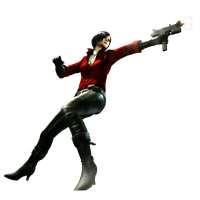 High Resolution Ada Wong Onslaught render by Corvasce1982