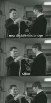I Now Declare This Bridge Open by Chibimiii