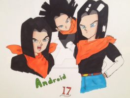 Android 17 by LovelyFerGie